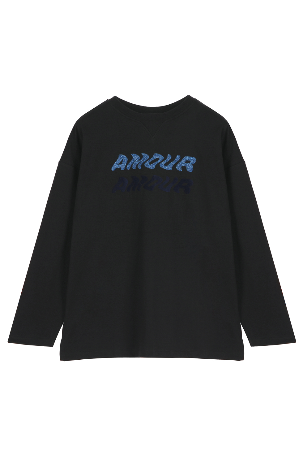 AMOUR OVERSIZED LONG SLEEVE T-SHIRTS