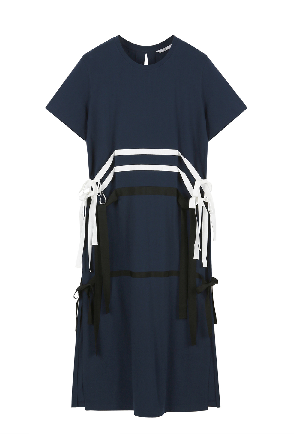 RIBBON TAPE ONE PIECE - NAVY