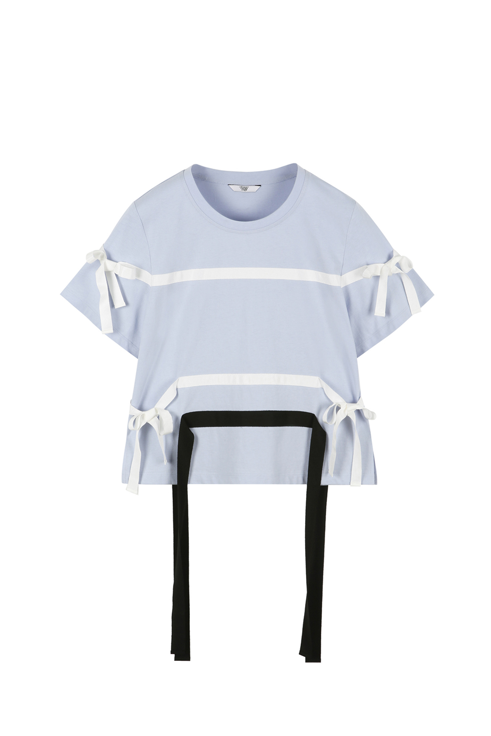 RIBBON TAPE T-SHIRTS - BLUE