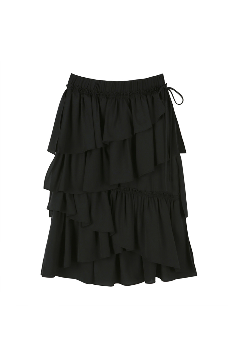 CAN CAN SKIRT - BLACK