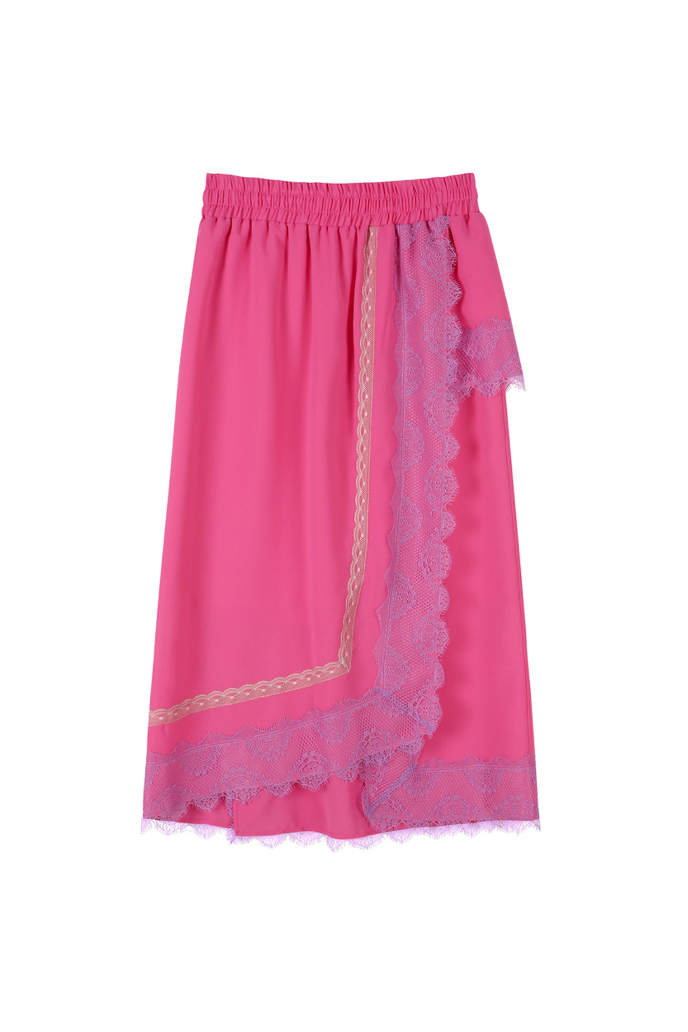 LACE SKIRT - PINK