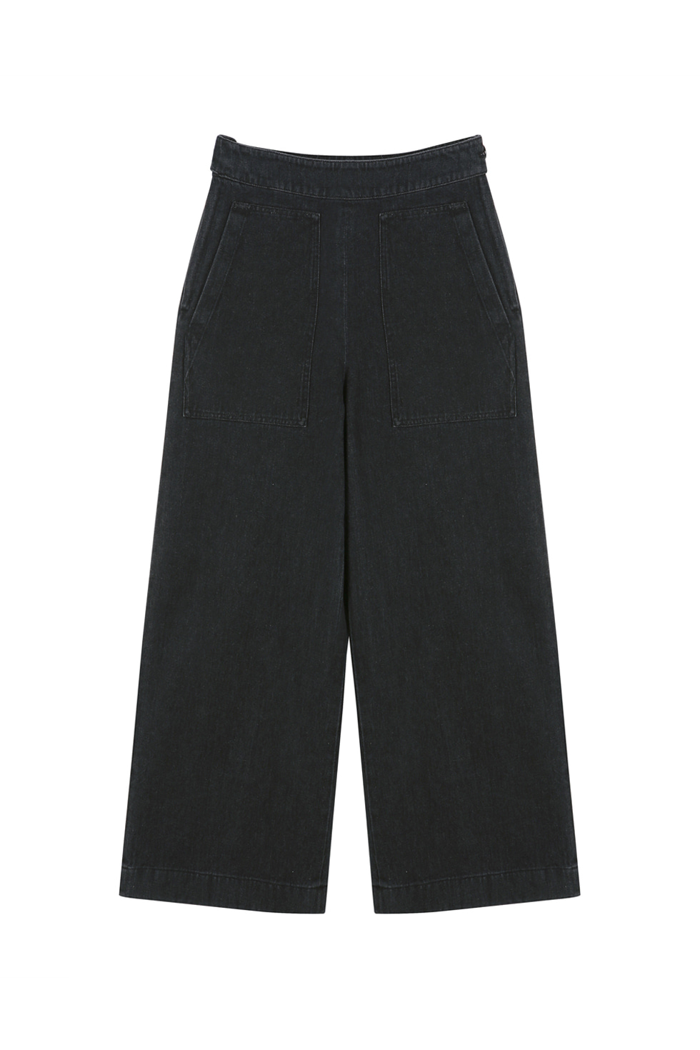 WIDE PANTS - BLACK
