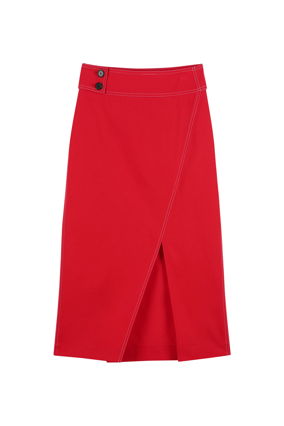STITCH SKIRT - RED
