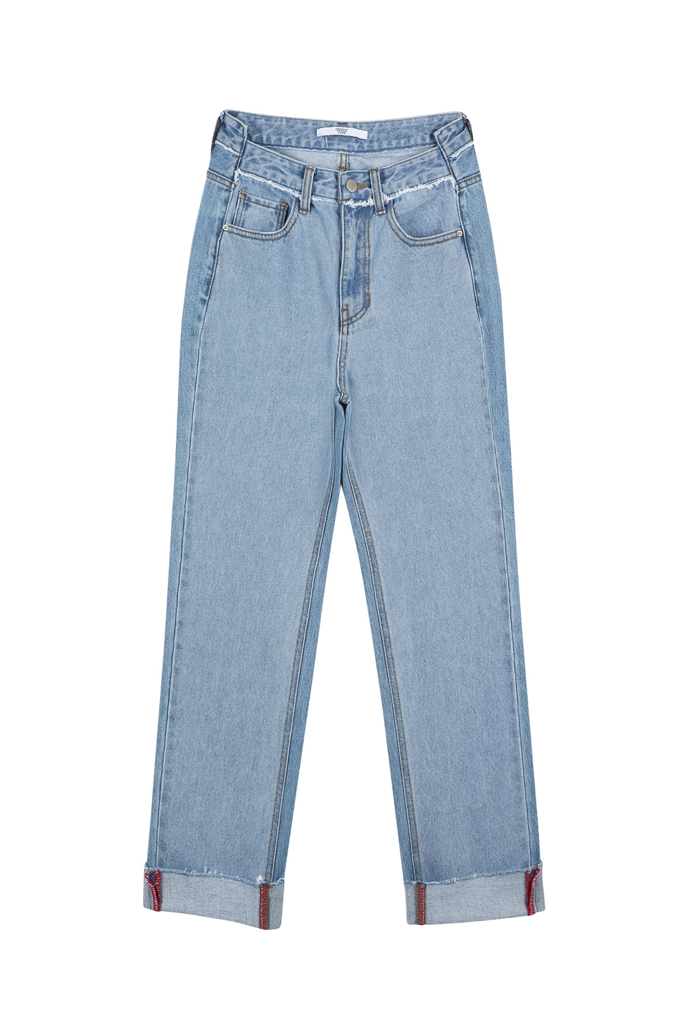 TWO-TONE DENIM - LIGHT BLUE