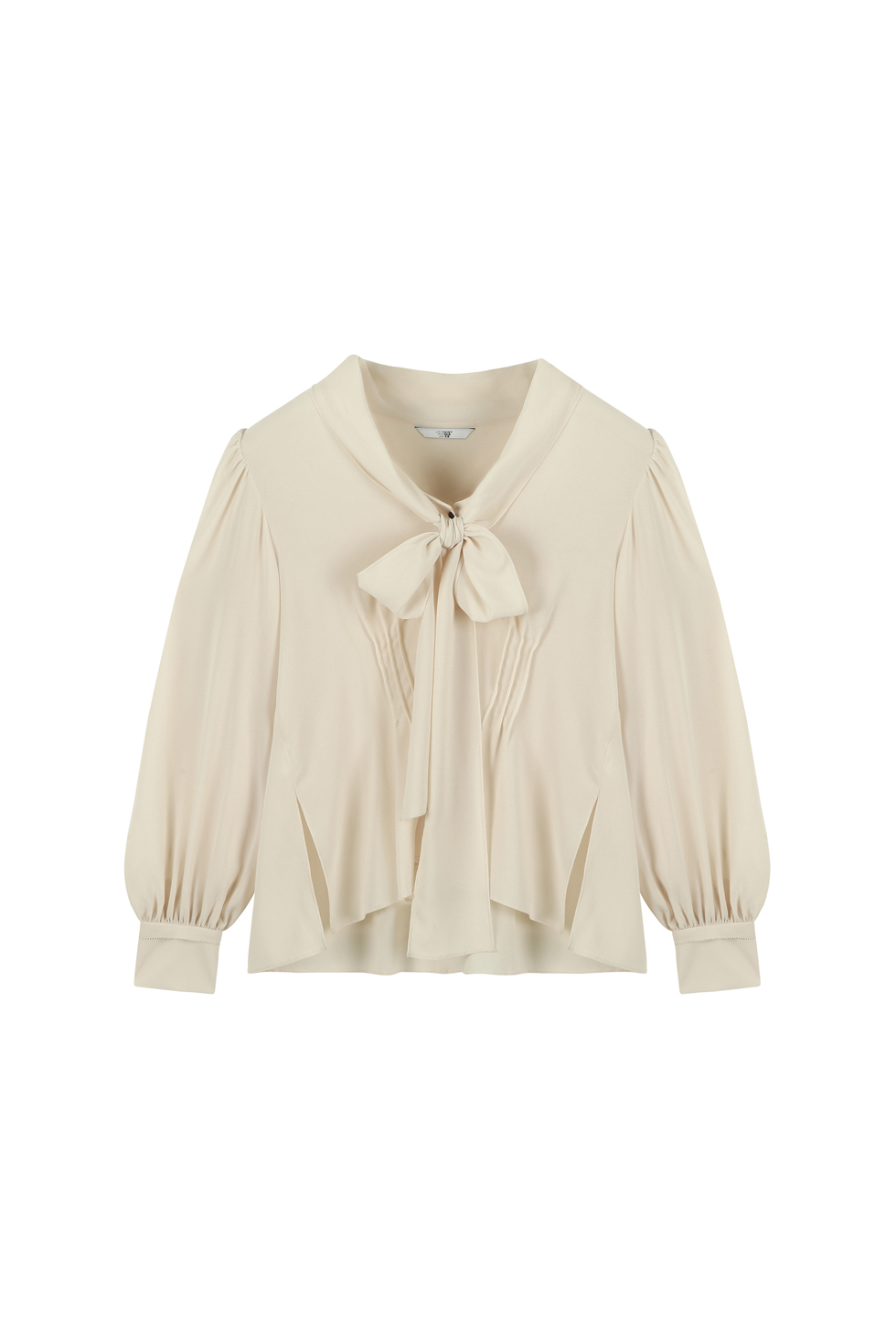 SCARF BLOUSE - IVORY