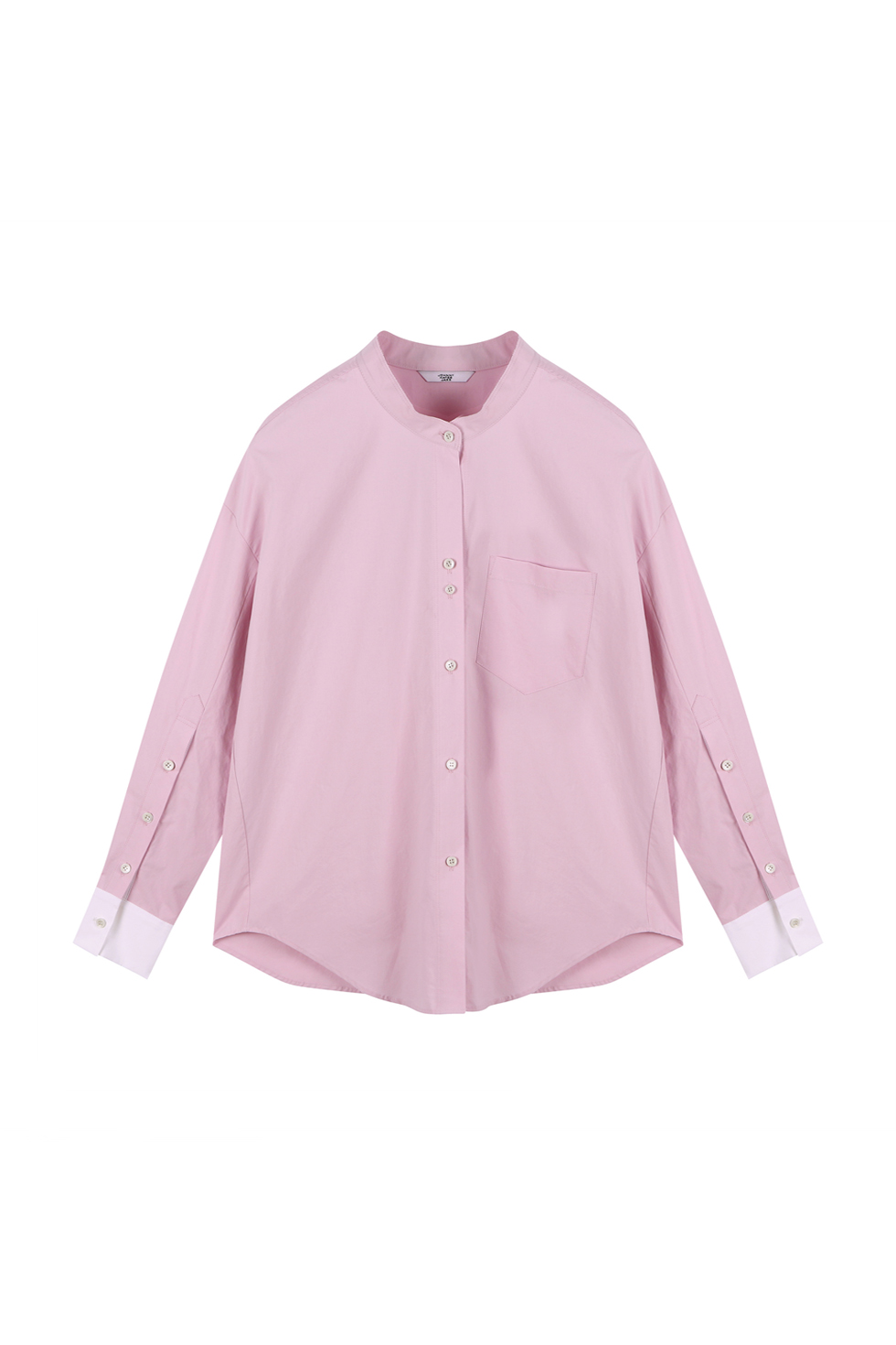 OVERSIZED COTTON SHIRTS - PINK