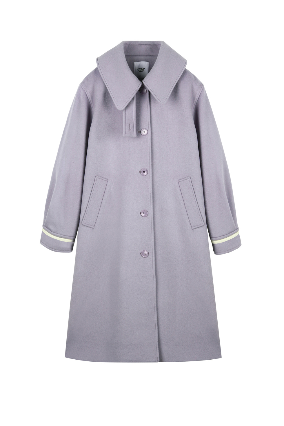 OVERSIZED LONG COAT - PURPLE