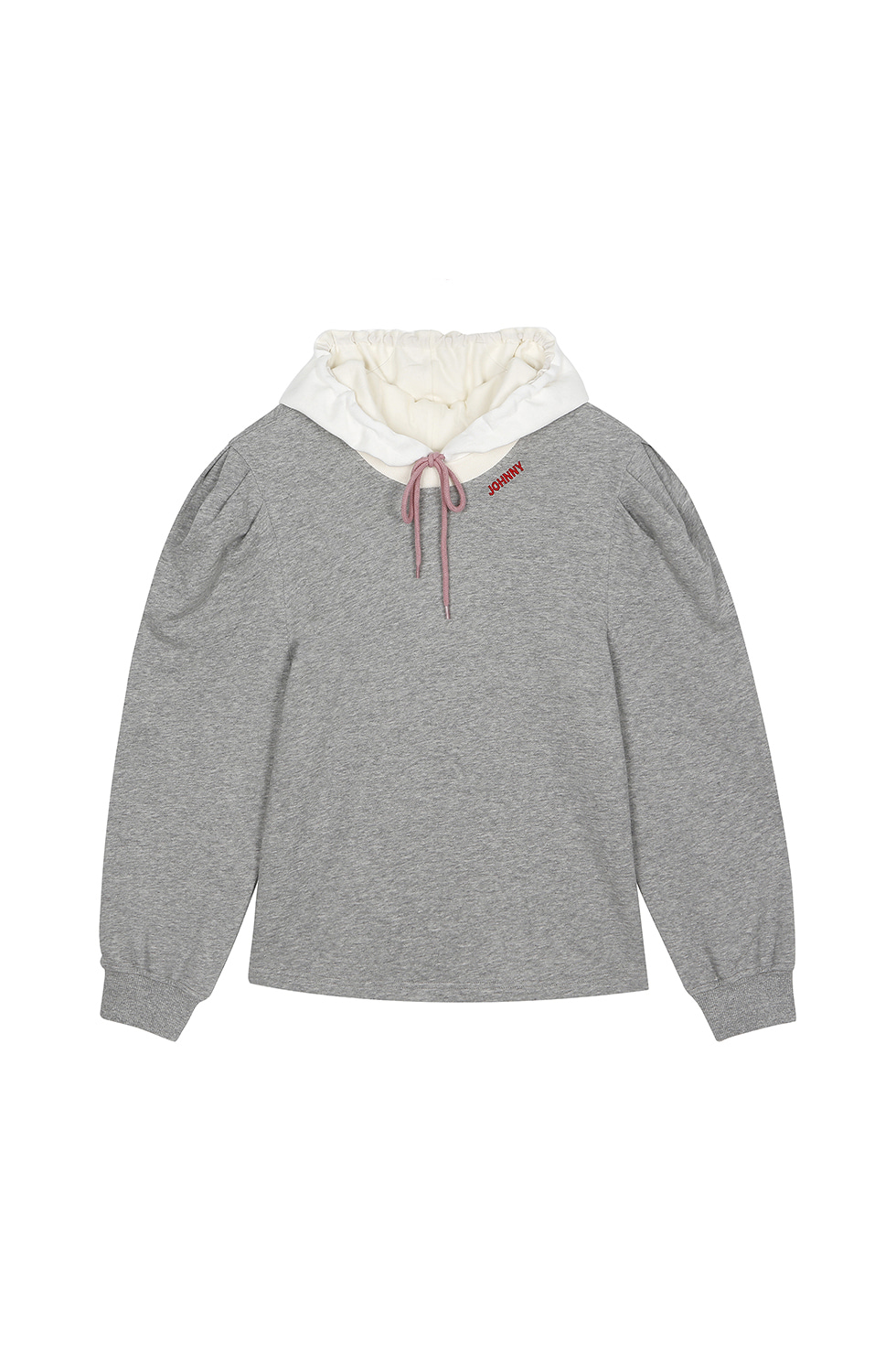BIG PUFF JOHNNY HOODIE - GREY