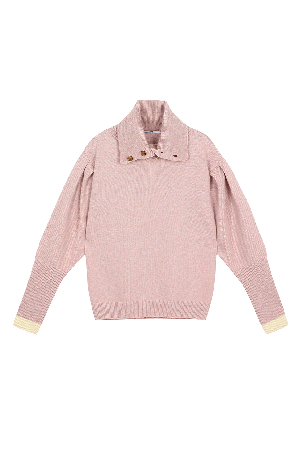 PUFF SLEEVE PULLOVER - PINK
