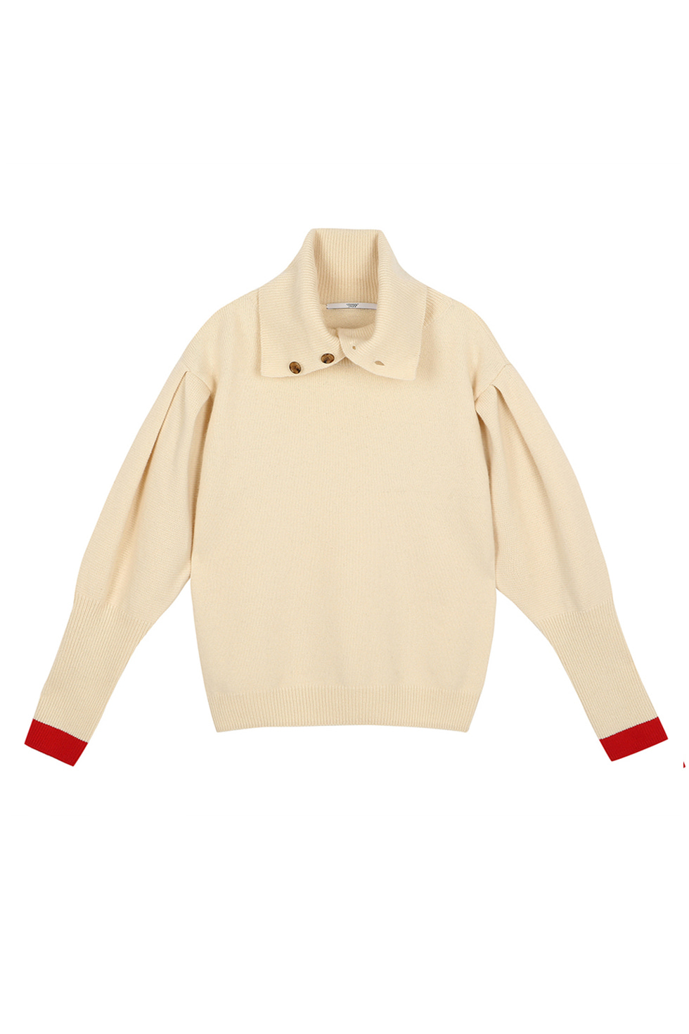 PUFF SLEEVE PULLOVER - IVORY