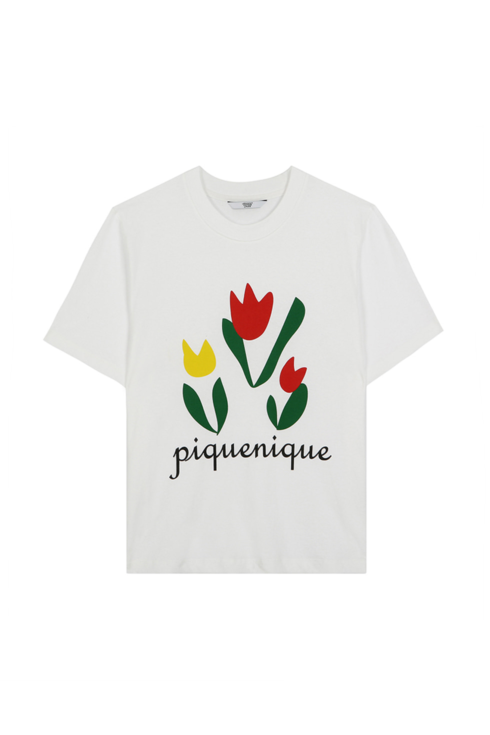 PIQUENIQUE T-SHIRTS - WHITE