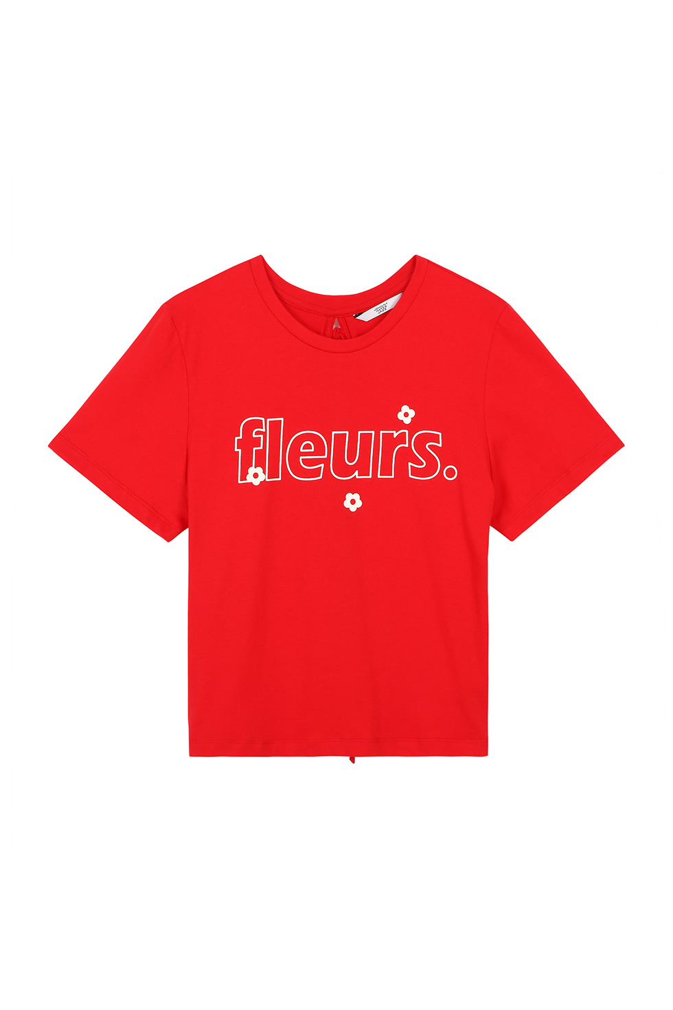 FLEURS T-SHIRTS - RED