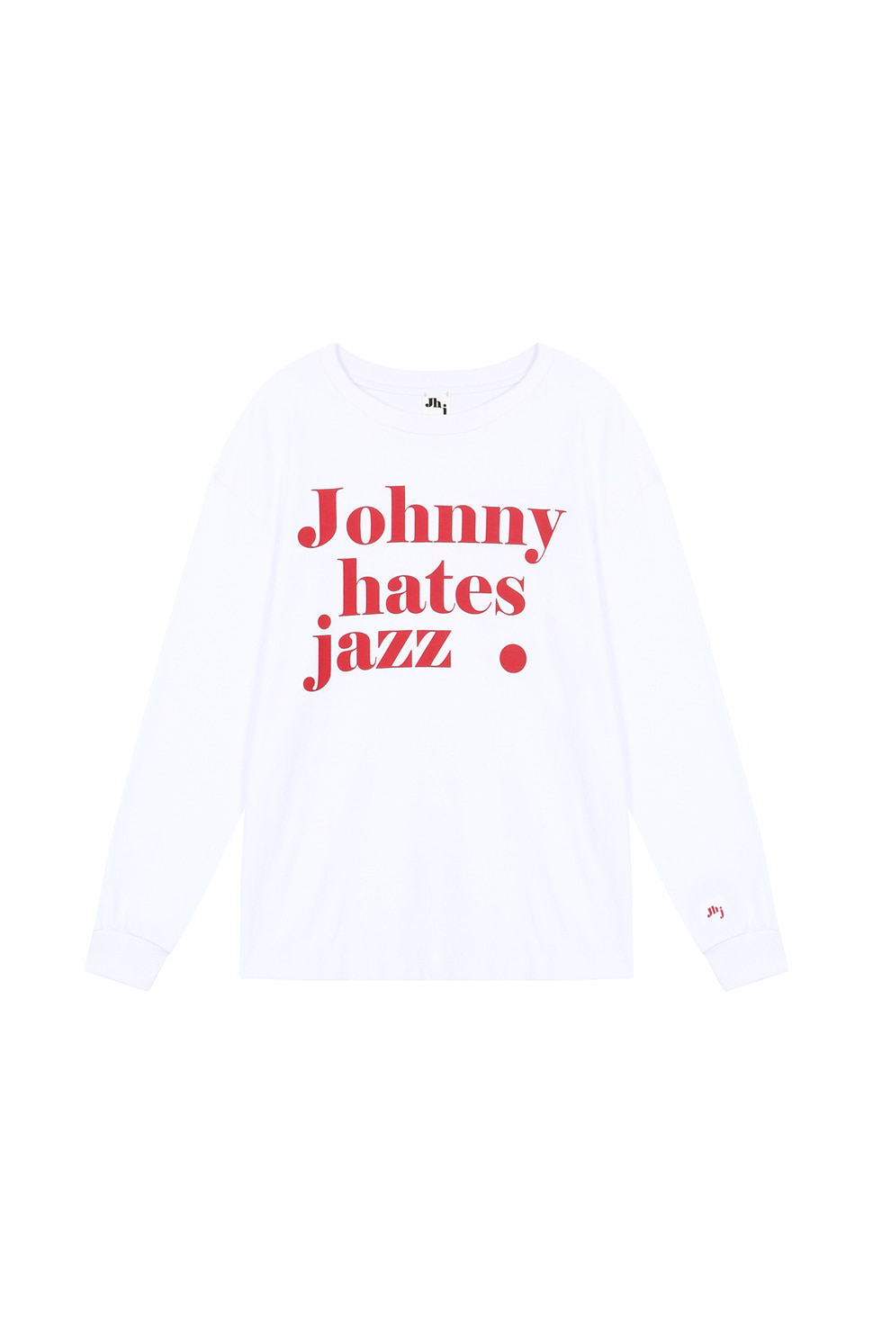JHZ LONG SLEEVES T-SHIRTS - WHITE