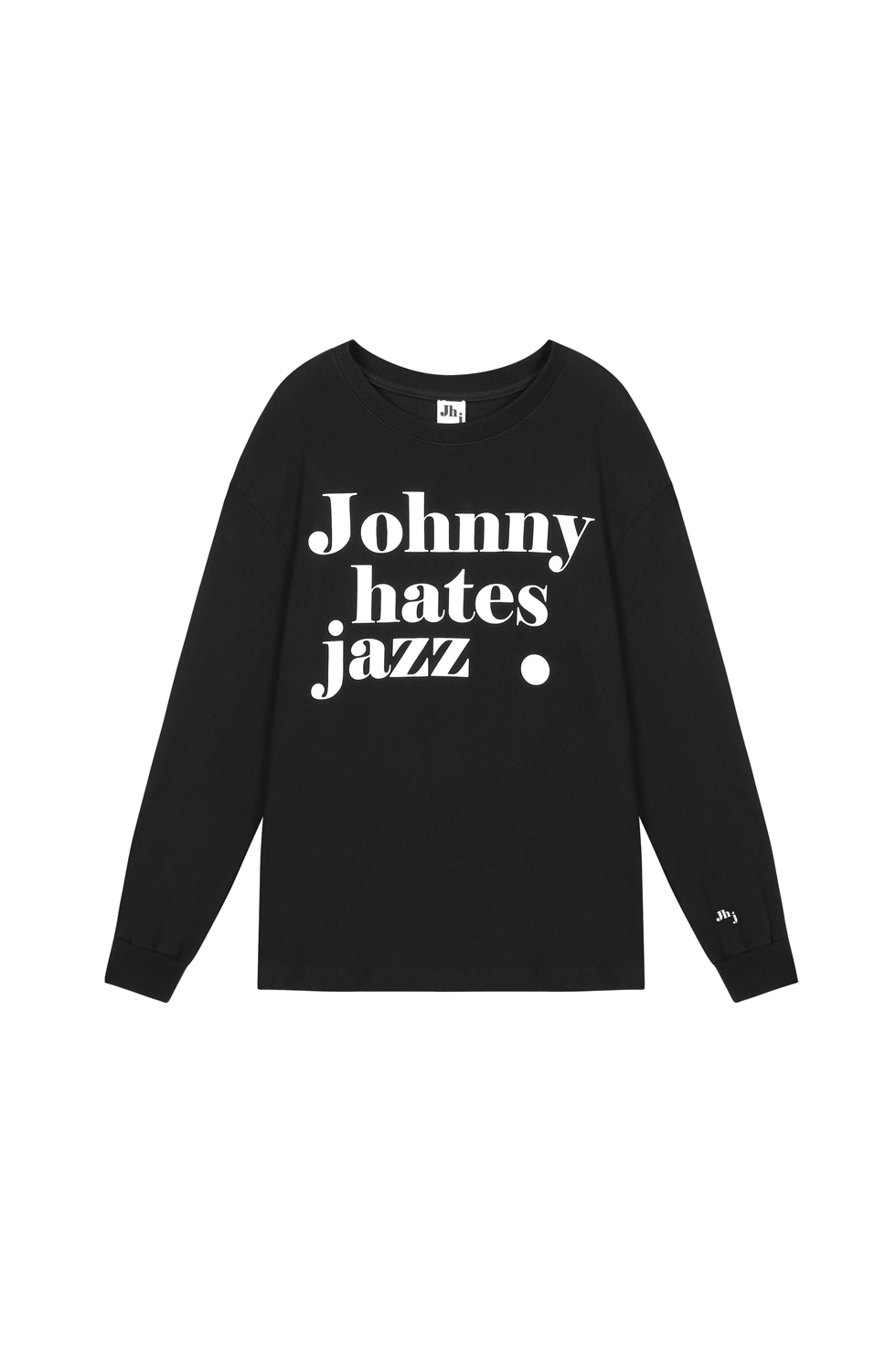 JHZ LONG SLEEVES T-SHIRTS - BLACK