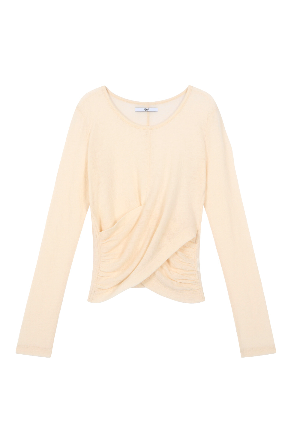 WOOL JERSEY LONG SLEEVES - IVORY