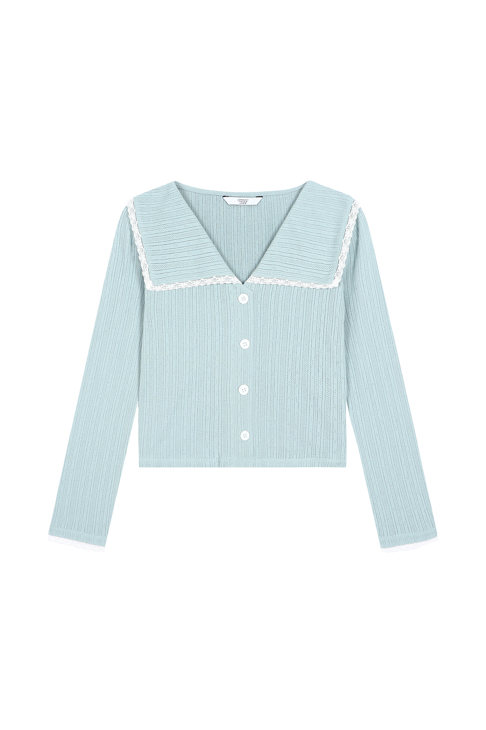 [4월 20일 예약배송]SAILOR COLLAR LONG SLEEVES - MINT