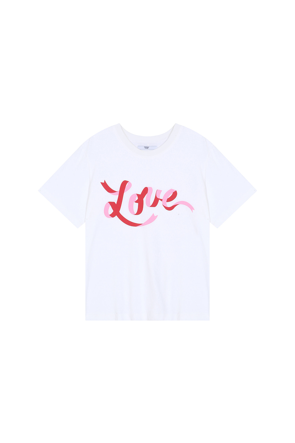 LOVE T-SHIRTS - WHITE