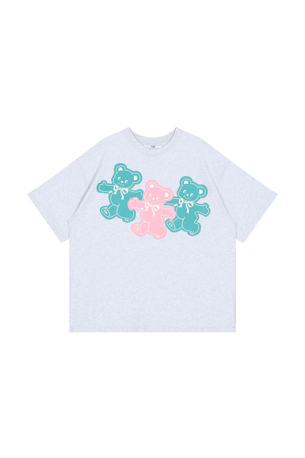 [4월 16일 입고]THREE BEARS T-SHIRTS - GREY